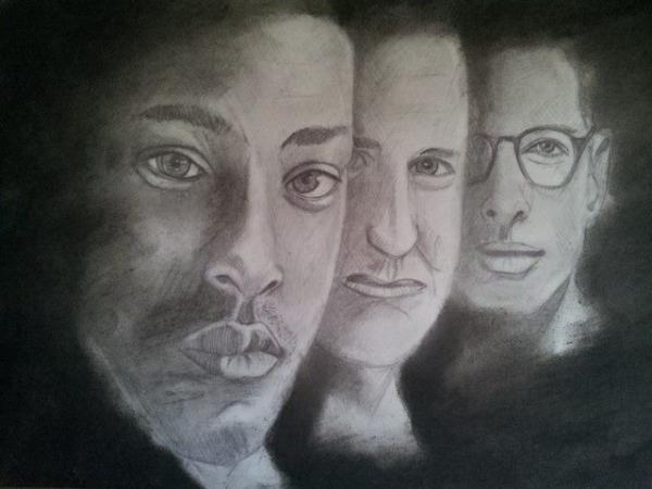 Will Smith, Jeff Goldblum, Bill Pullman por SusieG
